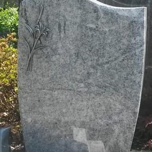 VISCONT WHITE, Urnenstein, oben geschwungen